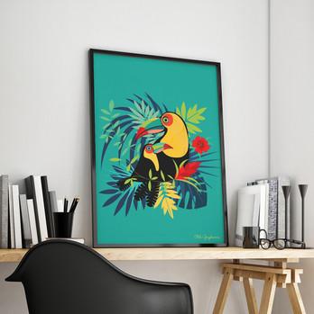 Illustration Toucan