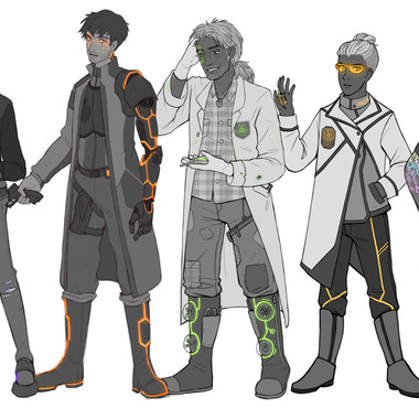 Character customs