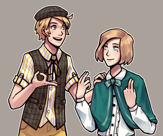 Judas-la-carotte - Louis and Lucien
