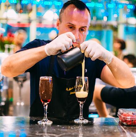 Geoffroy Maubon - Réalisation d'un Cocktail au Salon Gulfood Dubaï
