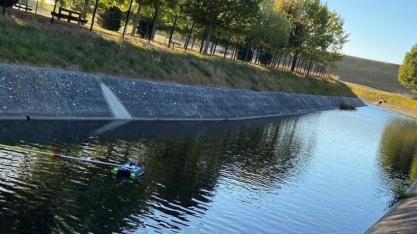 Jaugeage ADCP en rivière