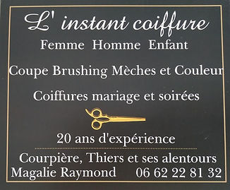 L'Instant Coiffure Magalie Raymond