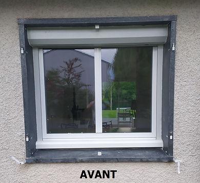 Peinture fenêtre Avant