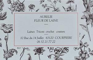 Fleur de Laine, membre d'Horizon Courpière