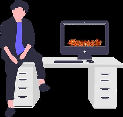 Création site internet professionnel avec 49euros.fr