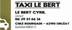 TAXI LE BERT