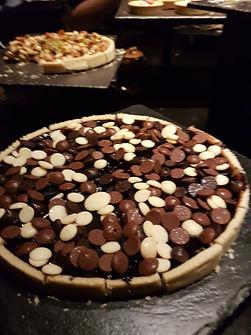 Création d'une Tarte au Chocolat par Geoffroy Maubon à Shanghaï en 2019