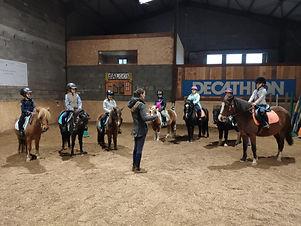 Cours d equitation niveau galop 2
