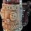 Thumbnail: Керамическая пивная кружка 0,7л «Жить хорошо! Светлая»