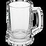 Стеклянная пивая кружка