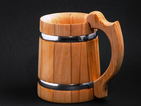 Как выбрать деревянную пивную кружку?