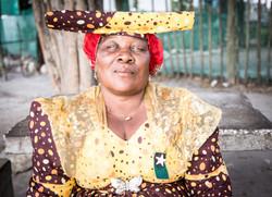 Herero Woman in Northern Namibia
