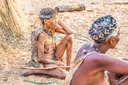 Bushmen @ Grashoek, Namibia