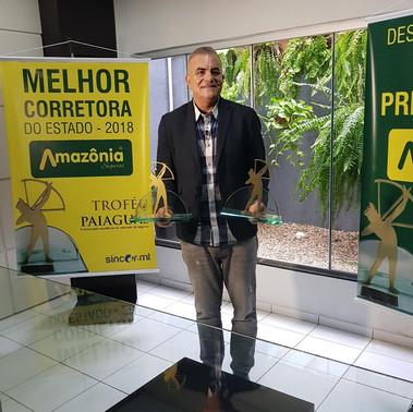 Amazônia Seguros receberá prêmio de empresa do ano.