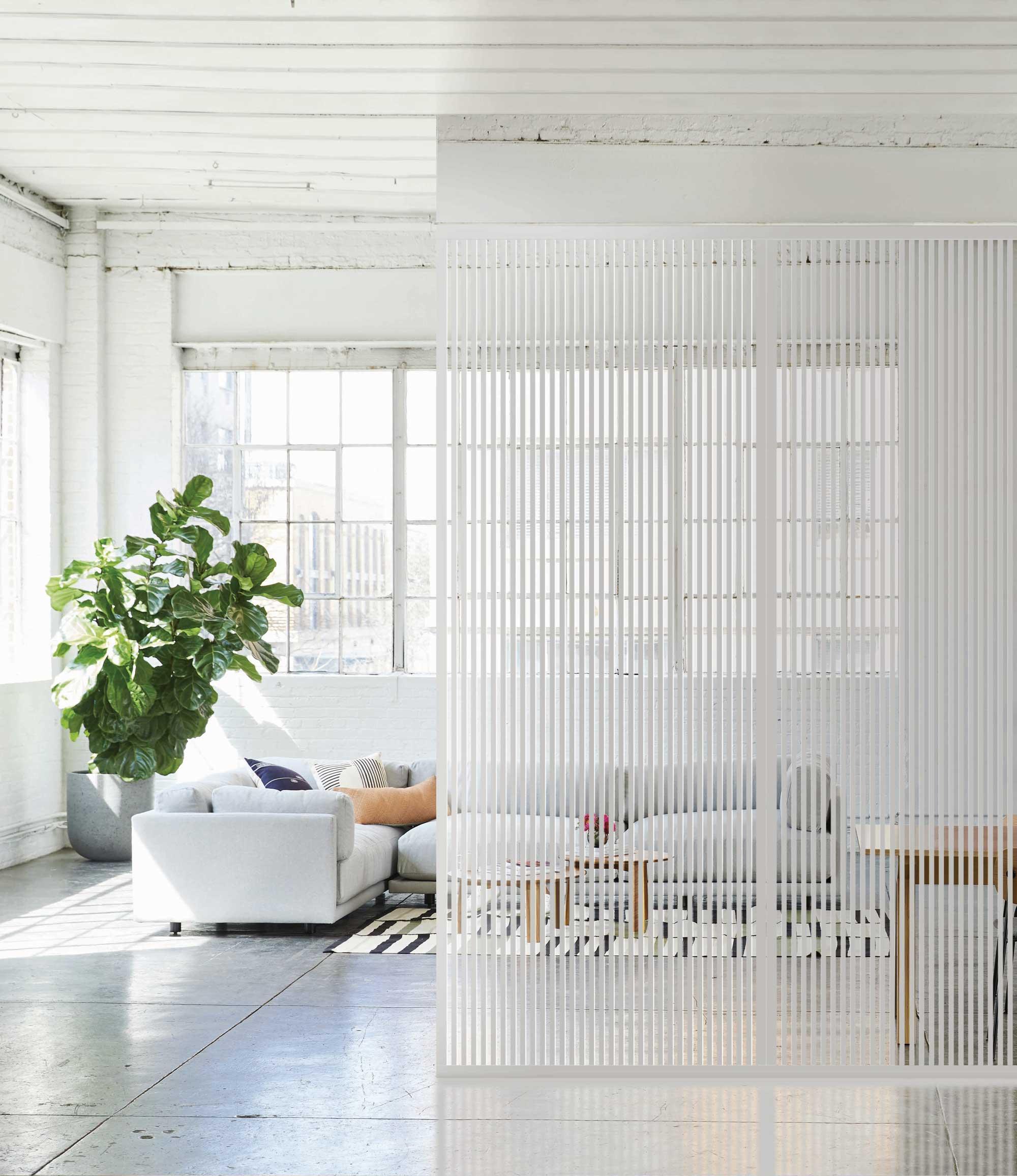 Verriere-fixe-L-integra-profil-blanc-mat