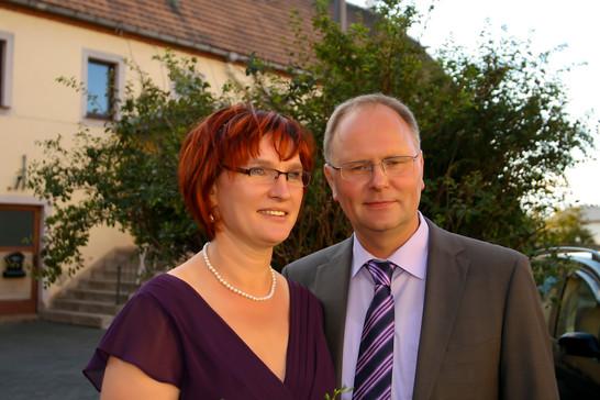 Kerstin und Holger habe ich auch schon zur grünen Hochzeit fotografiert