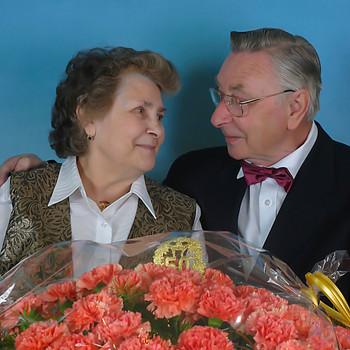 Familie Knoth, das erste Ehepaar das ich bei der goldenen Hochzeit begleitet habe