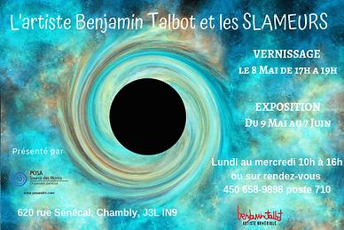 L'artiste Benjamin Talbot invitation (1)