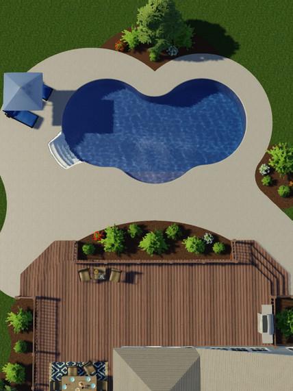 Pool Landscaping Design