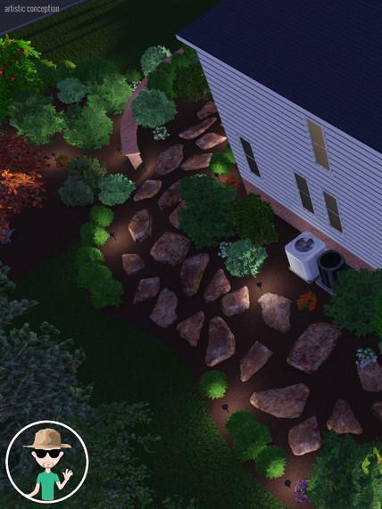 Design with Landscape Lighting
