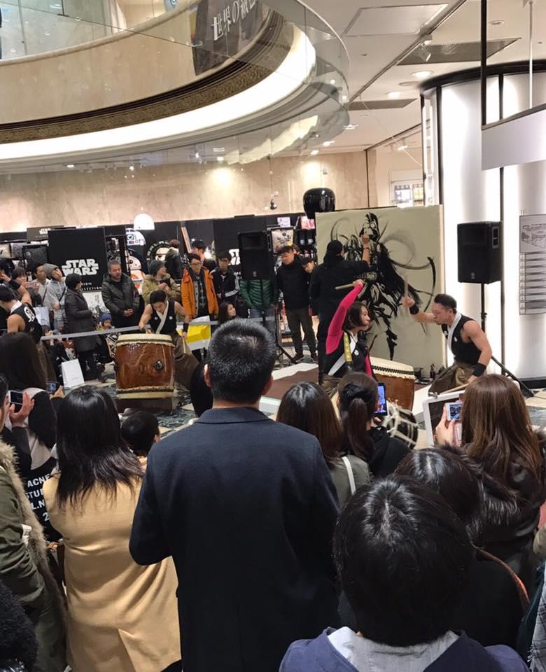 「スターウォーズ×武人画師 こうじょう雅之」LIVE ART共演/IDC
