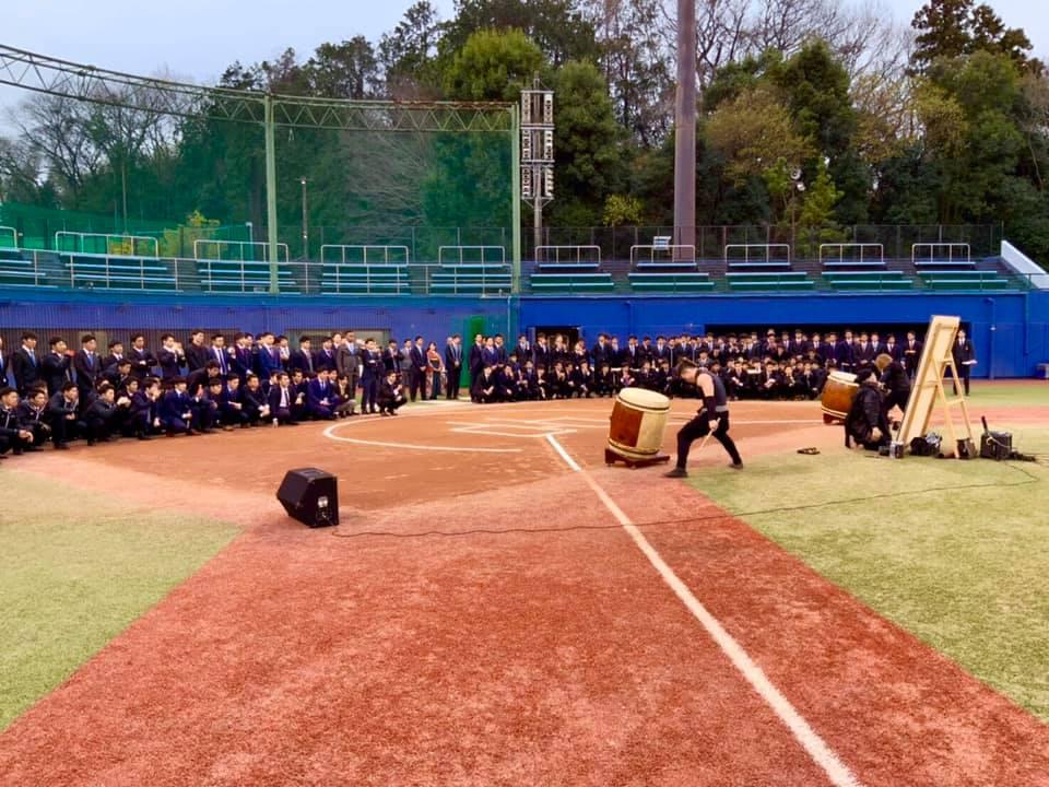 日本体育大学 野球部 卒団式典