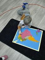 Aire sensorielle, Atelier Montessori, Puzzle de géographie  de l'Amérique du Sud