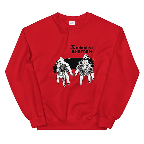 Yakuza Hands Crew Sweater
