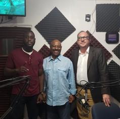 Promotion on Obi Wilchcombe's radio show