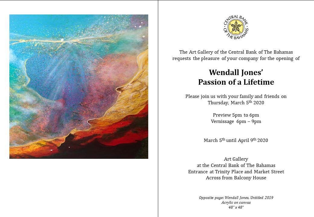 Invitation Wendall Jones