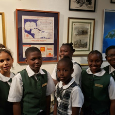 Young students from Cleveland Eneas School