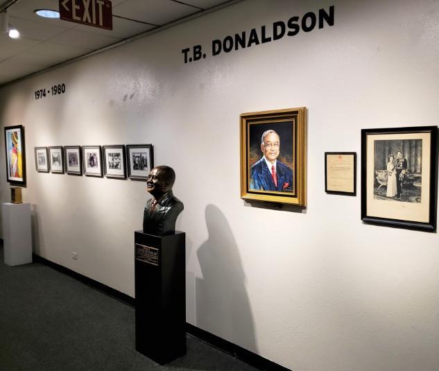 TB Donaldson Display