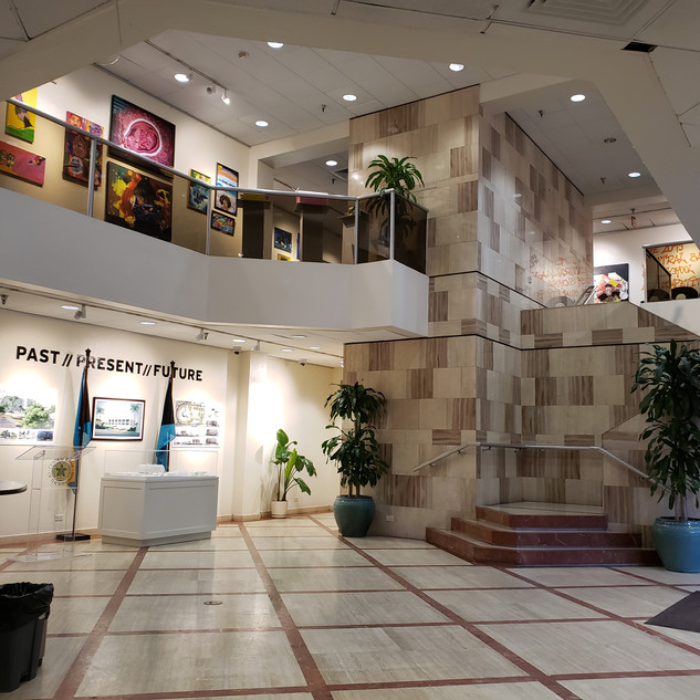 Exhibition View and Lobby