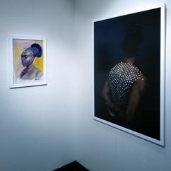 Exhibition View (Scott Ferguson, Melissa Alcena)