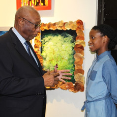 The Governor General in conversation with Francesca Sands