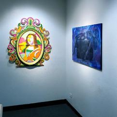Exhibition View (Devin Levar Adams, Thomas Haiston, Daniel Hanna)