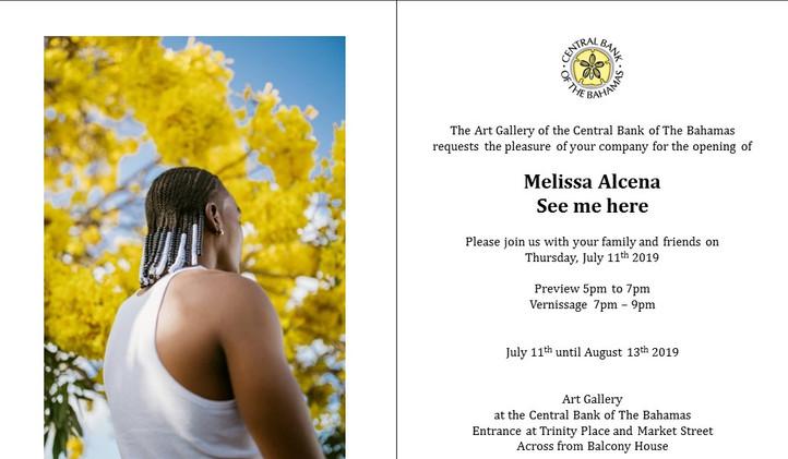 Melissa Alcena Invitation