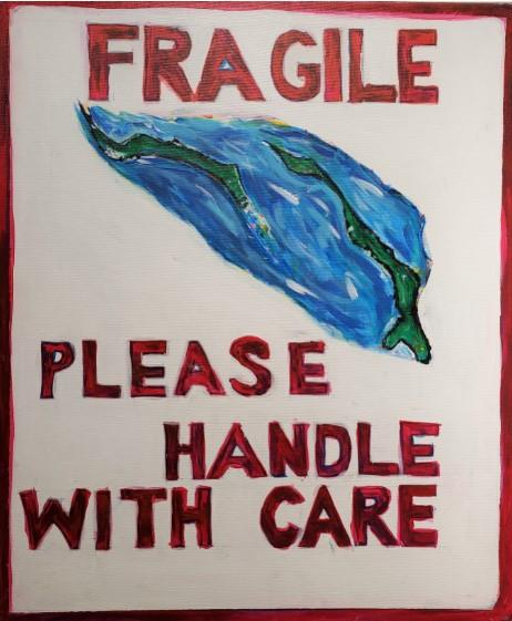 """Duane Rolle, """"Fragile"""", 2019"""