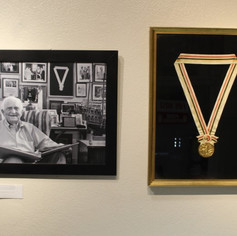 Sir Durward and the original Gold Medal