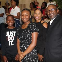 Makeda Smith and Family