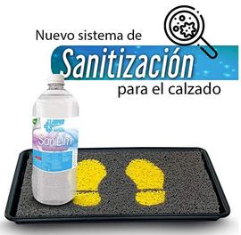 Tapete sanitizante
