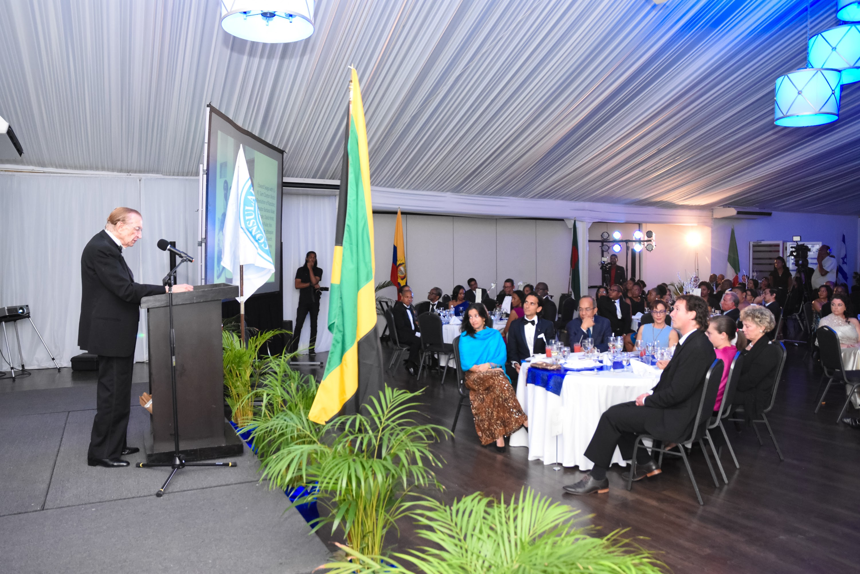 The Consular Corps of Jamaica - Edward Seaga Recognition-7409