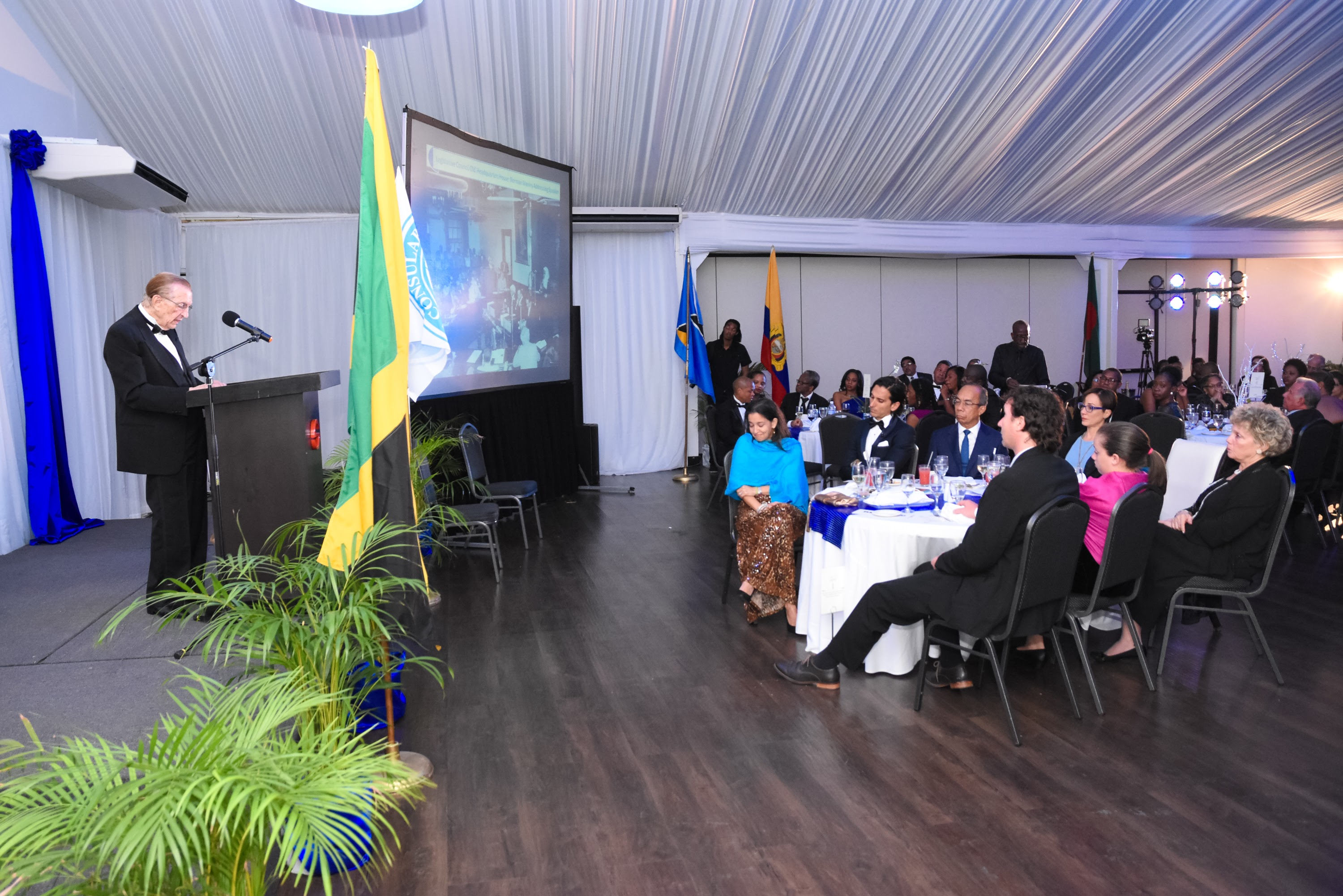 The Consular Corps of Jamaica - Edward Seaga Recognition-7433