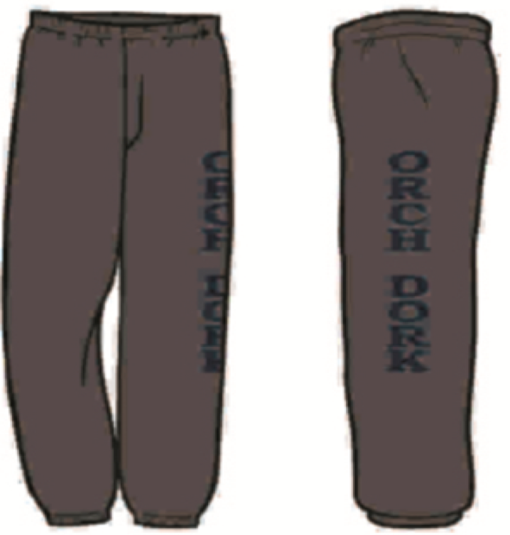 """Orch Dork"" Sweat Pants"