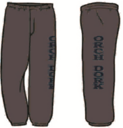 """Orch Dork"" Sweat Pants"