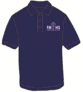Mens Dri Fit Polo (Navy with White)