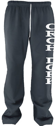Orch Dork sweat pants (Heather Navy with White)