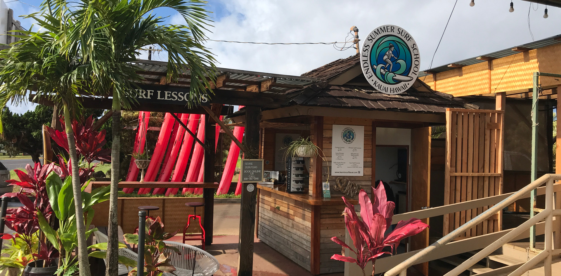 Kauai surf school