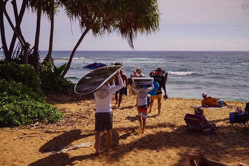 Kauai Surf Lessons Poipu