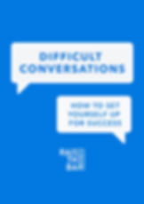 ebook on Difficult Conversations (dragge